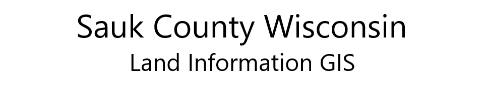 Sauk County Open Data Repository logo